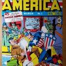 Captain America 1 Bucky Marvel Comic Poster by Jack Kirby