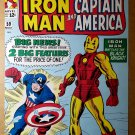 Captain America Iron Man Tales of Suspense 59 Marvel Comics Poster by Jack Kirby