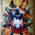 Captain America Wolverine Iron Man Spider-Man Marvel Poster by Michael Turner