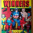 All Winners Avengers Captain America Marvel Comics Poster by Al Avison