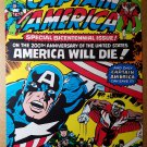 Avengers Captain America Falcon Marvel Comics Poster by Jack Kirby