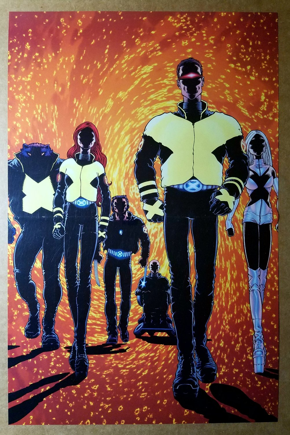 X-Men 114 Wolverine Emma Frost Cyclops Beast Marvel Poster by Frank Quitely