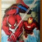 Marvel Adventures Iron Man Spider-Man Marvel Comics Poster by Salvador Larroca