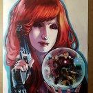Black Widow Iron Man Wolverine Marvel Comics Poster by Stephanie Hans