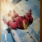 Invincible Iron Man Five Nightmares Marvel Comics Poster by Salvador Larroca
