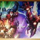 Iron Man Avengers Marvel Comics Poster by Salvador Larroca