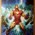 Iron Man Legacy Marvel Comics Poster by Gerald Parel
