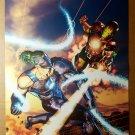Iron Man Whiplash Marvel Comics Poster by Brandon Peterson
