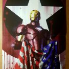 Iron Man American Flag Marvel Comics Poster by Adi Granov