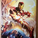 Iron Man Captain America Casualties of War Marvel Comic Poster by Jim Cheung