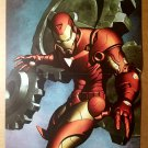 Iron Man Gears Marvel Comic Poster by Adi Granov