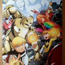 Iron Man Ultimo Power Pack Marvel Comics Poster by Gurihiru