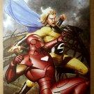 Iron Man Vs Sentry Marvel Comic Poster by Adi Granov