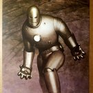 Vintage Iron Man suit Marvel Comics Poster by Adi Granov
