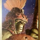 Incredible Hulk Planet Hulk Exile Marvel Comics Poster by Ladronn