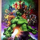 World War Hulk 1 Marvel Comics Poster by Michael Turner