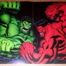Green Hulk Vs Red Hulk Marvel Comics Poster by Ed McGuinness