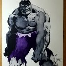 Hulk Gray 1 Marvel Comics Poster by Tim Sale