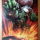 World War Hulk 1 Marvel Comics Poster by David Finch