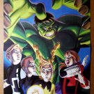 Hulk Power Pack 1 Marvel Comics Poster by David Williams