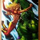 Incredible Hulk Marvel Comic Poster by Greg Land