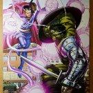 World War Hulk 4 Dr Strange Marvel Comics Poster by John Romita Jr