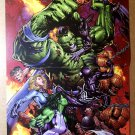 World War Hulk Marvel Comics Poster by David Finch