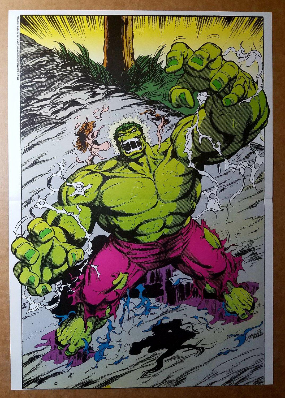 Incredible Hulk Marvel Comics Poster by Dale Keown