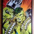 Incredible Hulk with big Gun Marvel Comics Poster by Dale Keown