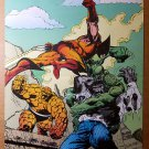 Incredible Hulk Wolverine The Thing Marvel Comics Poster by John Byrne