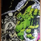 Hulk Marvel Comics Poster by Dale Keown
