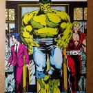 Incredible Hulk Marvel Comic Mini Poster by Dale Keown
