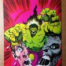 Incredible Hulk Marvel Comics Mini Poster by Dale Keown
