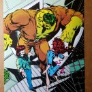 Incredible Hulk Redhead lady Marvel Comics Mini Poster by Dale Keown
