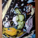 Incredible Hulk War Strategy Marvel Comics Mini Poster by Dale Keown