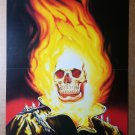 Ghost Rider 18 Marvel Comic Poster by Nelson DeCastro