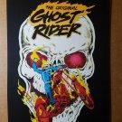 Ghost Rider Marvel Comics Mini Poster by Bob Budiansky