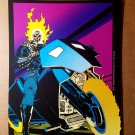 Ghost Rider Medallion of Power Marvel Comics Mini Poster by Javier Saltares