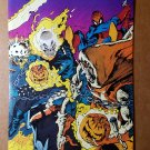 Ghost Rider Spider-Man Jack O'Lantern Marvel Comics Mini Poster by Mark Texeira