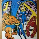 Fantastic Four Marvel Comics Poster by Jack Kirby