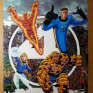 Fantastic Four Marvel Comics Poster by George Perez