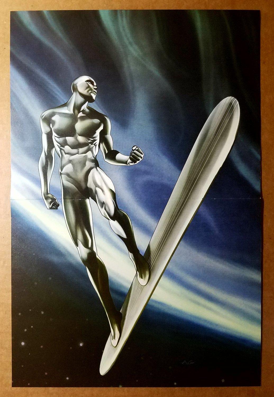 Silver Surfer Fantastic Four Marvel Comics Poster by Adi Granov