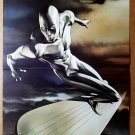 Silver Surfer of Fantastic Four Marvel Comics Poster by Adi Gravov