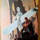 Silver Surfer Spider-Man Marvel Comics Poster by Esad Ribic