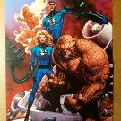 Fantastic Four Marvel Comics Poster by Francis Leinil Yu