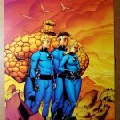 Fantastic Four Marvel Comic Poster by Mike Wieringo