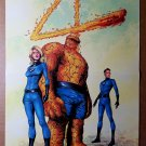 Fantastic Four Marvel Comics Poster by Gary Frank