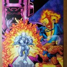Fantastic Four Silver Surfer Galactus Marvel Comics Poster by Mike Wieringo