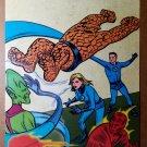 Fantastic Four Vs Skrull Marvel Comics Poster by Mike Allred