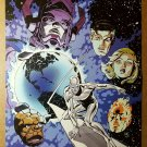 Fantastic Four Silver Surfer Galactus Marvel Comics Poster by Paul Smith
